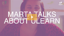 ULearn English School: Marta tells Steve why she enjoyed her time at ULearn so much!